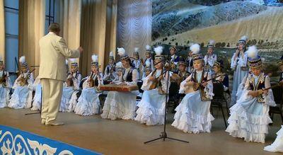 35 Лет существует образцовый оркестр села мамбет алматинской области