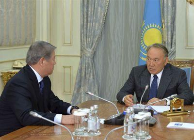 А.есимов проинформировал н.назарбаева о заключительном этапе подготовки к «экспо-2017»