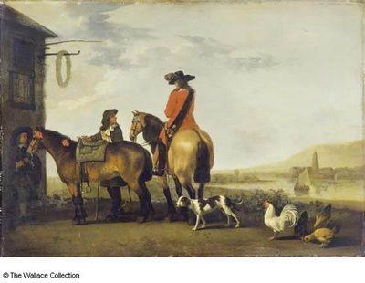 Абрахам ван калрает (abraham van calraet) картины