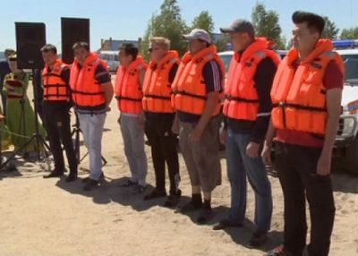 Акмолинские спасатели готовятся к началу купального сезона