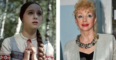 Актёры советских сказок тогда и сейчас (10 фото)