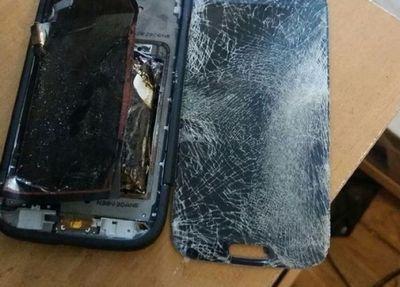 Актюбинка показала ожоги от взрыва мобильного телефона (фото)