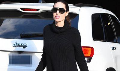 Актриса анджелина джоли шокировала поклонников своей худобой фото