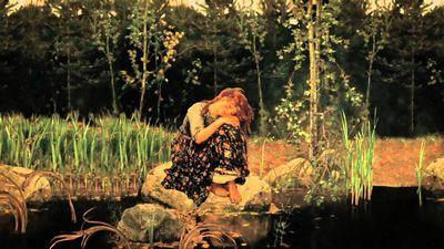 «Алёнушка» картина васнецова