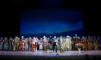 Алматы с восторгом встретил «астана опера»