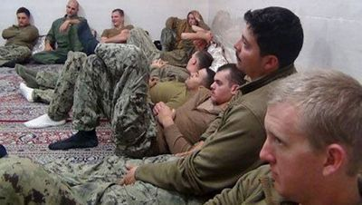 Американцы выдвинули свою версию нарушения моряками иранских территориальных вод