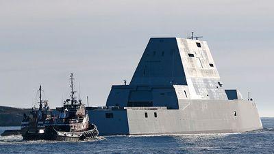 Американский суперэсминец «замволт» рискует остаться без снарядов