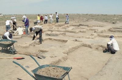 Археологи возобновили раскопки древнего городища актобе-лаэти