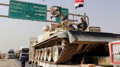 Армия ирака продолжает операцию по освобождению мосула от тгил