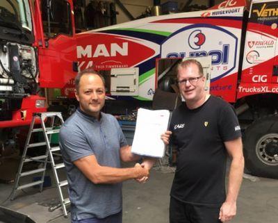 Артур ардавичус будет пилотировать грузовик man на «дакар-2017»