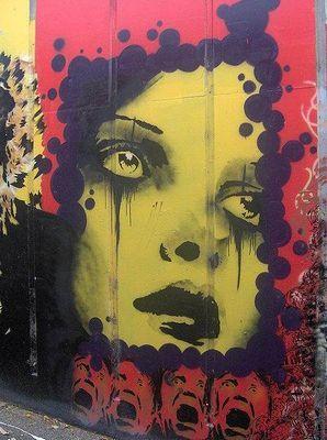 Австралийский стрит-арт художник rone