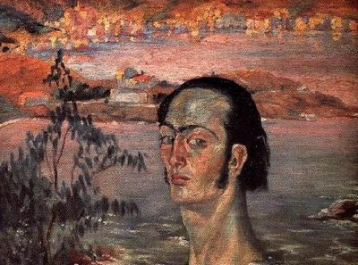 Автопортрет с рафаэлевской шеей картина сальвадора дали