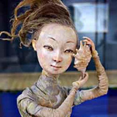 Азиатское настроение: куклы и картины