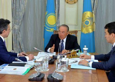 Б.султанов доложил президенту казахстана об итогах деятельности минфина за 9 месяцев текущего года