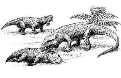 Битва за землю – архозавры vs звероящеры