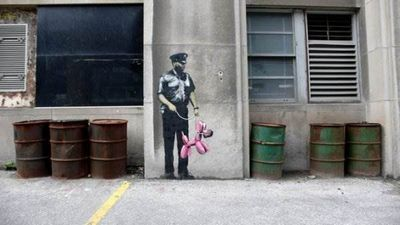 Бэнкси (banksy) легенда граффити