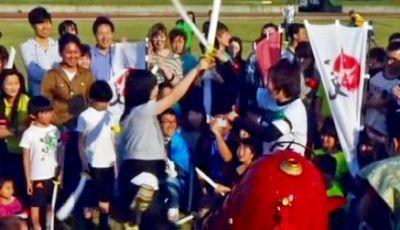 Бои в самурайском стиле привлекают всё больше туристов в японию