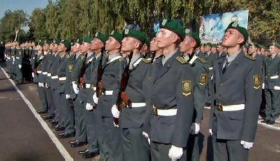 Более 250 курсантов академии погранслужбы кнб рк приняли присягу