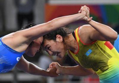 Борец э.сыздыкова принесла казахстану 12-ю медаль на олимпиаде в рио