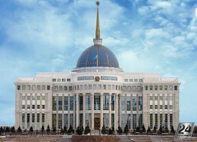 Церемония поднятия штандарта президента казахстана состоялась в акорде