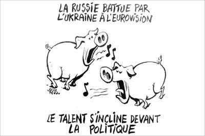 Charlie hebdo карикатура на джамалу и лазарева