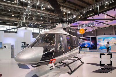 Что представляет собой легкий вертолет ансат