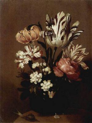 Цветочные натюрморты художника ханса болоньера