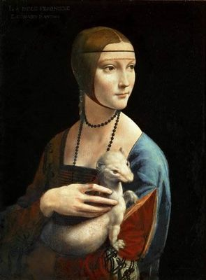Дама с горностаем картина леонардо да винчи