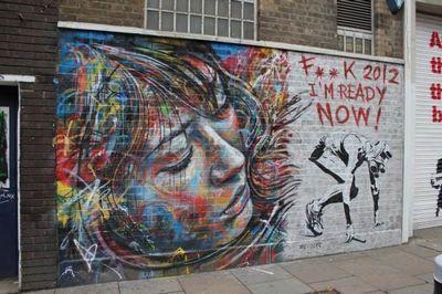 David walker граффитчик из лондона