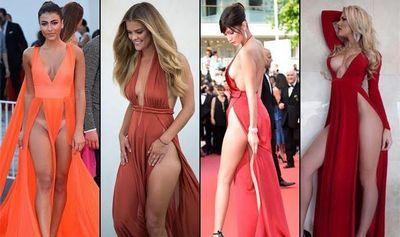 Девушки в вагино-платьях (16 фото)