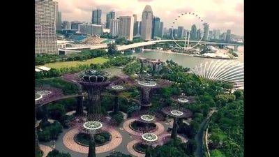 До сингапура очень далеко