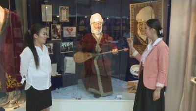 Домбра дины нурпеисовой представлена на выставке в атырау