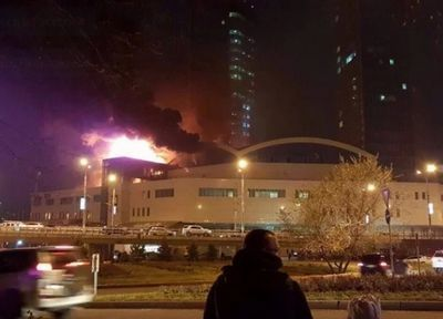 Досудебное расследование проводится по факту пожара в almaty towers