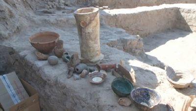 Древние артефакты найдены в городище отырар