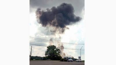 Два самолета пилотажных групп упали в сша в один день