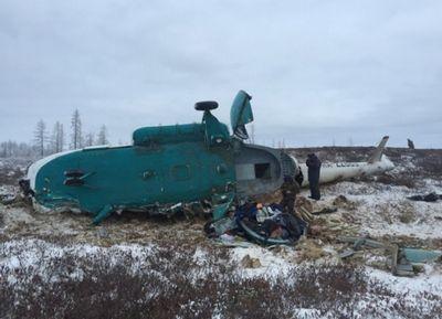 Двое казахстанцев погибли при крушении вертолета в россии