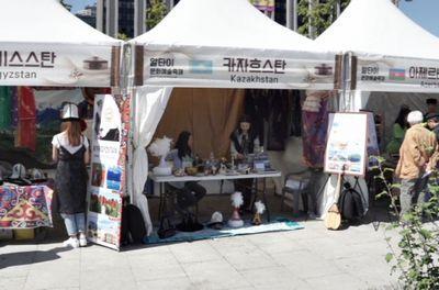 Фестиваль алтайской культуры состоялся в сеуле