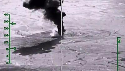Форпост спецназа сша и великобритании якобы попал под авиаудары вкс россии