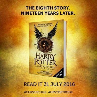 «Гарри поттер и проклятое дитя» книга 2016 дата выхода