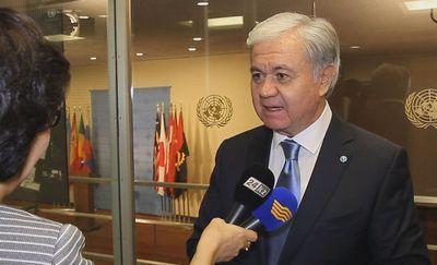 Генсек шос поздравляет с днём первого президента казахстана