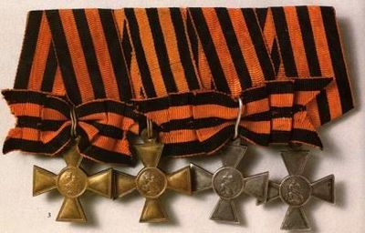 Георгиевская лента — история символа