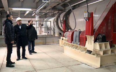 Гипсовый завод тараза наращивает производственную мощность