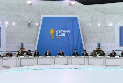 Глава государства принял участие во втором заседании астанинского клуба
