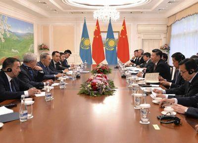 Главы казахстана и китая обсудили сотрудничество в ряде сфер