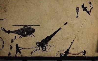 Граффити американских солдат
