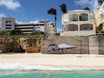 Граффити на карибах, стрит-арт художник ludo