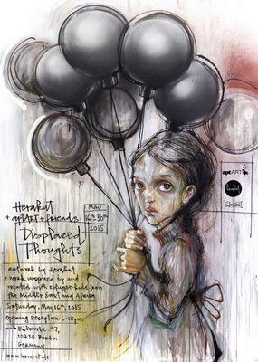 Herakut - известные художники граффити