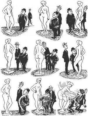 Херлуф бидструп рисунки и карикатуры