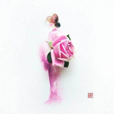 Художница лим цзи вэй (limzy) - акварель и цветы