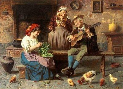 Художники италии 19-20 века. eugenio eduardo zampighi картины